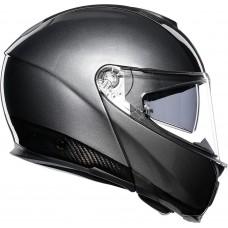 Шлем AGV SPORTMODULAR CARBON/DARK GREY