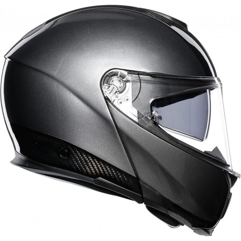 Шлем AGV SPORTMODULAR CARBON/DARK GREY
